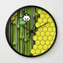 BamBee HD by JC LOGAN 4 Simply Blessed Wall Clock
