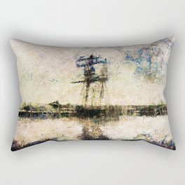 A Gallant Ship Rectangular Pillow