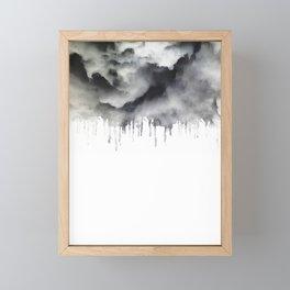Drop Cloud Framed Mini Art Print