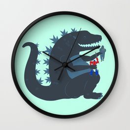 Let's be best friends forever! - Godzilla Wall Clock