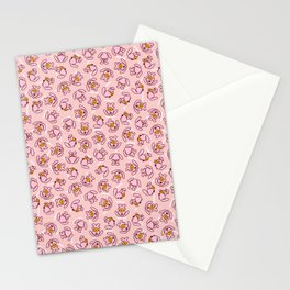 Botanken's Pattern Dream: Pink. Stationery Cards