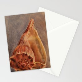 Counch Shell Stationery Cards