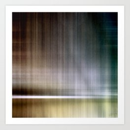 Abstract Lines 3 Art Print