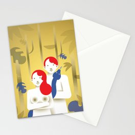 Adam and Eve today Stationery Cards