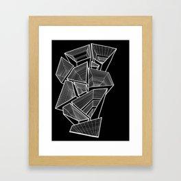 Pockets - Inverted B&W Framed Art Print