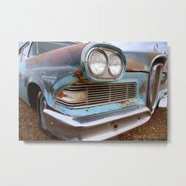 58' Ford Edsel Metal Print