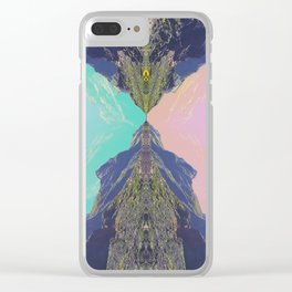 Temple Clear iPhone Case