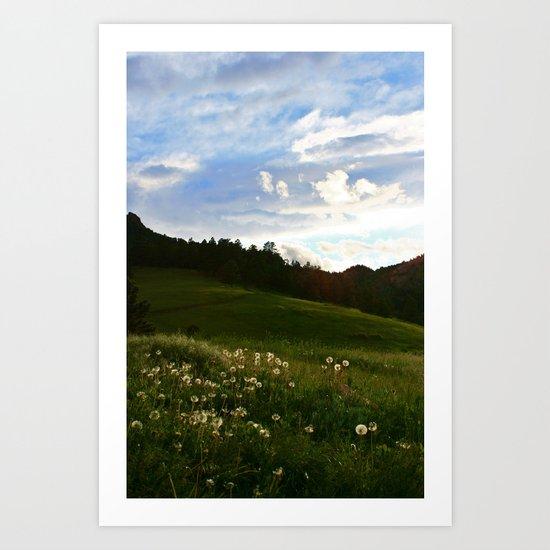 Morning Walk | Colorado Art Print