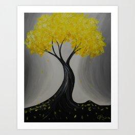 Lemon Twist Art Print