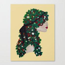 STRAWBERRY VINE TRESSES Canvas Print