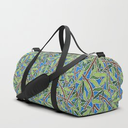 Leaves and Branches in Weaving Tangle Duffle Bag