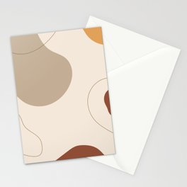 Threads of destiny - Modern abstract art Stationery Cards