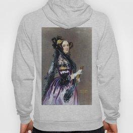 Portrait of Ada Lovelace by Alfred Edward Chalon Hoody