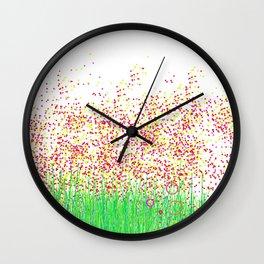 jardin punto Wall Clock