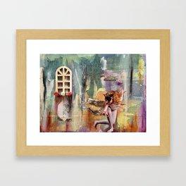 Dancing in the Dreamlight Framed Art Print