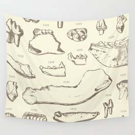 Paleo Dentistry Wall Tapestry