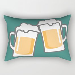 Cheers for peers with beer - Enjoy beer day with your friends Rectangular Pillow