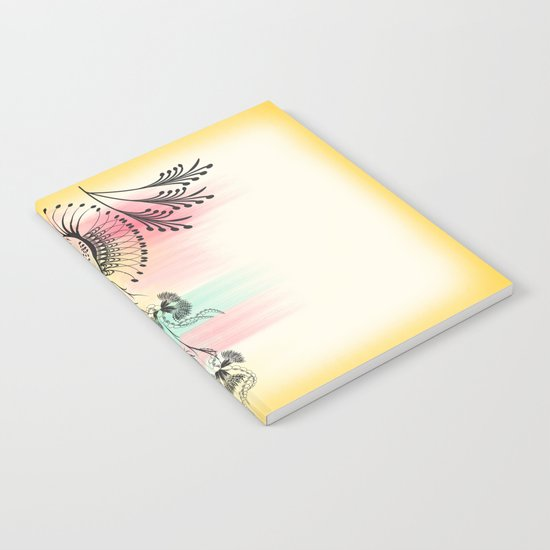 Decorative Floral Notebook
