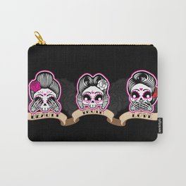 Wise Skulls Carry-All Pouch