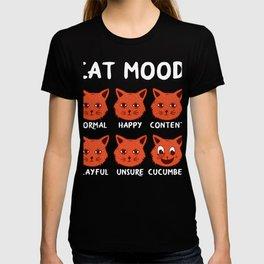 Humor Cat moods T-shirt