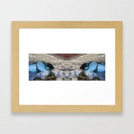 Alien Sunbathing #7 Framed Art Print