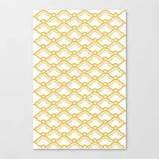 Matsukata II Mustard Canvas Print