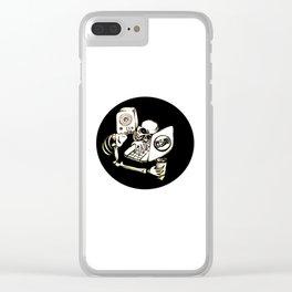 'Til death Clear iPhone Case