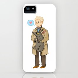Good Omens- The Ineffable Couple iPhone Case