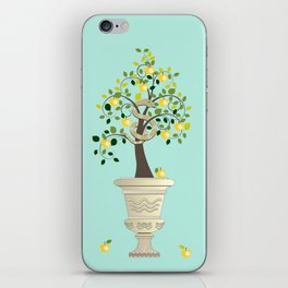 Guarding Golden Apples iPhone Skin