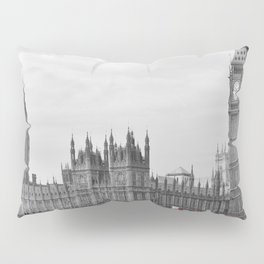Buses on Westminster Bridge Pillow Sham