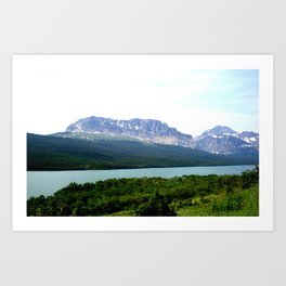 EARTH, WATER, AND SKY Art Print