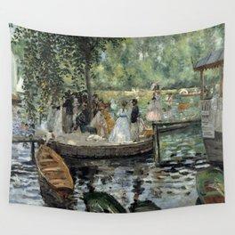 Pierre-Auguste Renoir - La Grenouillère Wall Tapestry