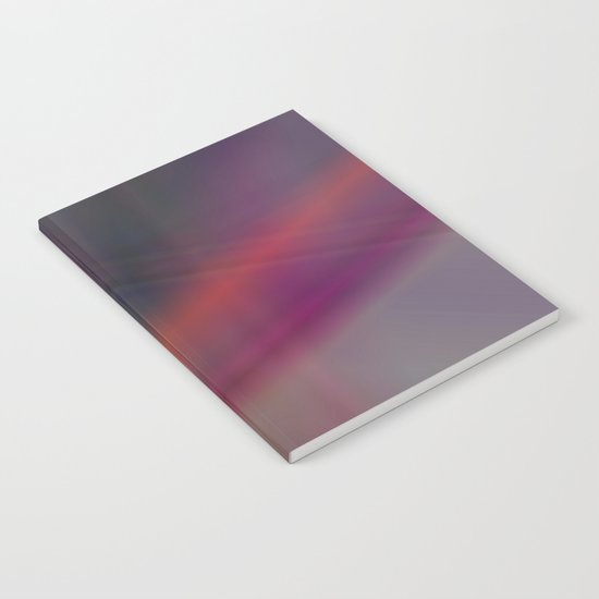 Dark abstract colors Notebook