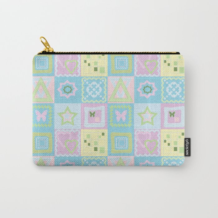 Delicate shades of baby pattern. Carry-All Pouch