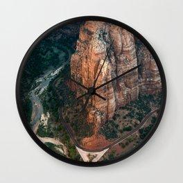 Zion Canyon Wall Clock