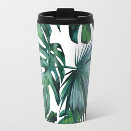 Tropical Palm Leaves Classic Travel Mug