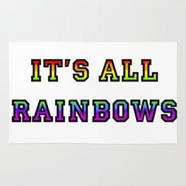 It's All Rainbows Rug