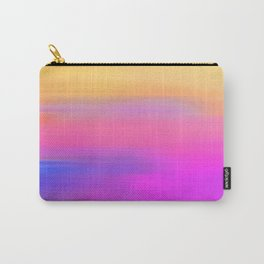 Sunset Hues - Abstract painting Carry-All Pouch