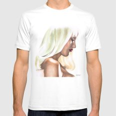 Platinum Blonde Life. Mens Fitted Tee White MEDIUM