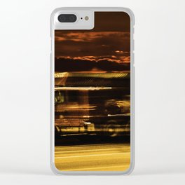 Camión en la ruta Estados Unidos Route 66 Clear iPhone Case
