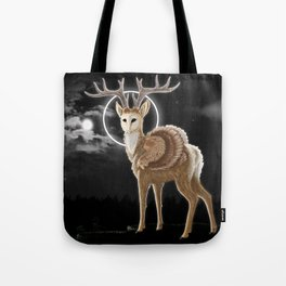 The night is calling Tote Bag