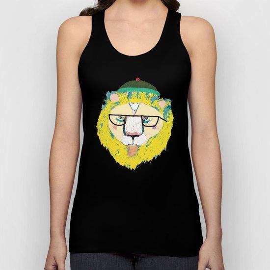 Mr Lion Unisex Tank Top