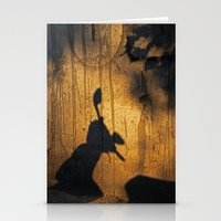 theatre Stationery Cards featuring Shadow theatre by Alfani Photography