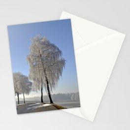 Wintry Landscape Stationery Cards