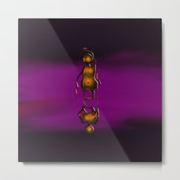 Totem In Oils Metal Print