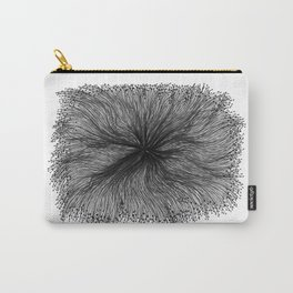 Jellyfish Large B&W Carry-All Pouch
