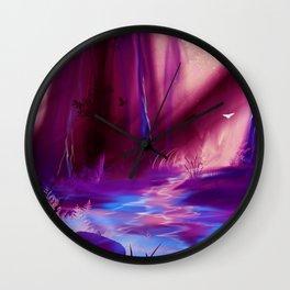 The Path of Dreams Wall Clock