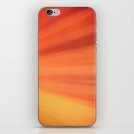 Burning Passion iPhone Skin