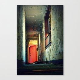 Down the hall Canvas Print