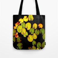 pacman Tote Bags featuring Pacman by Chris' Landscape Images & Designs